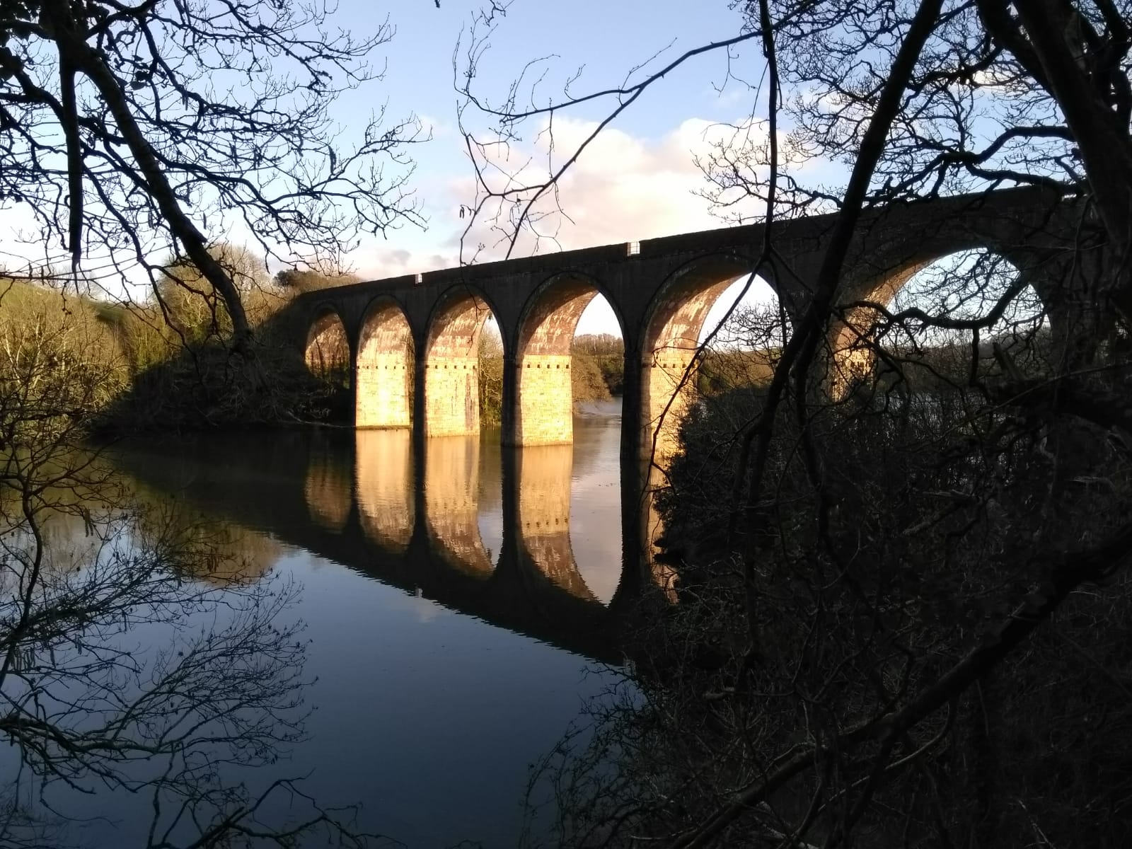 photo: Forder viaduct