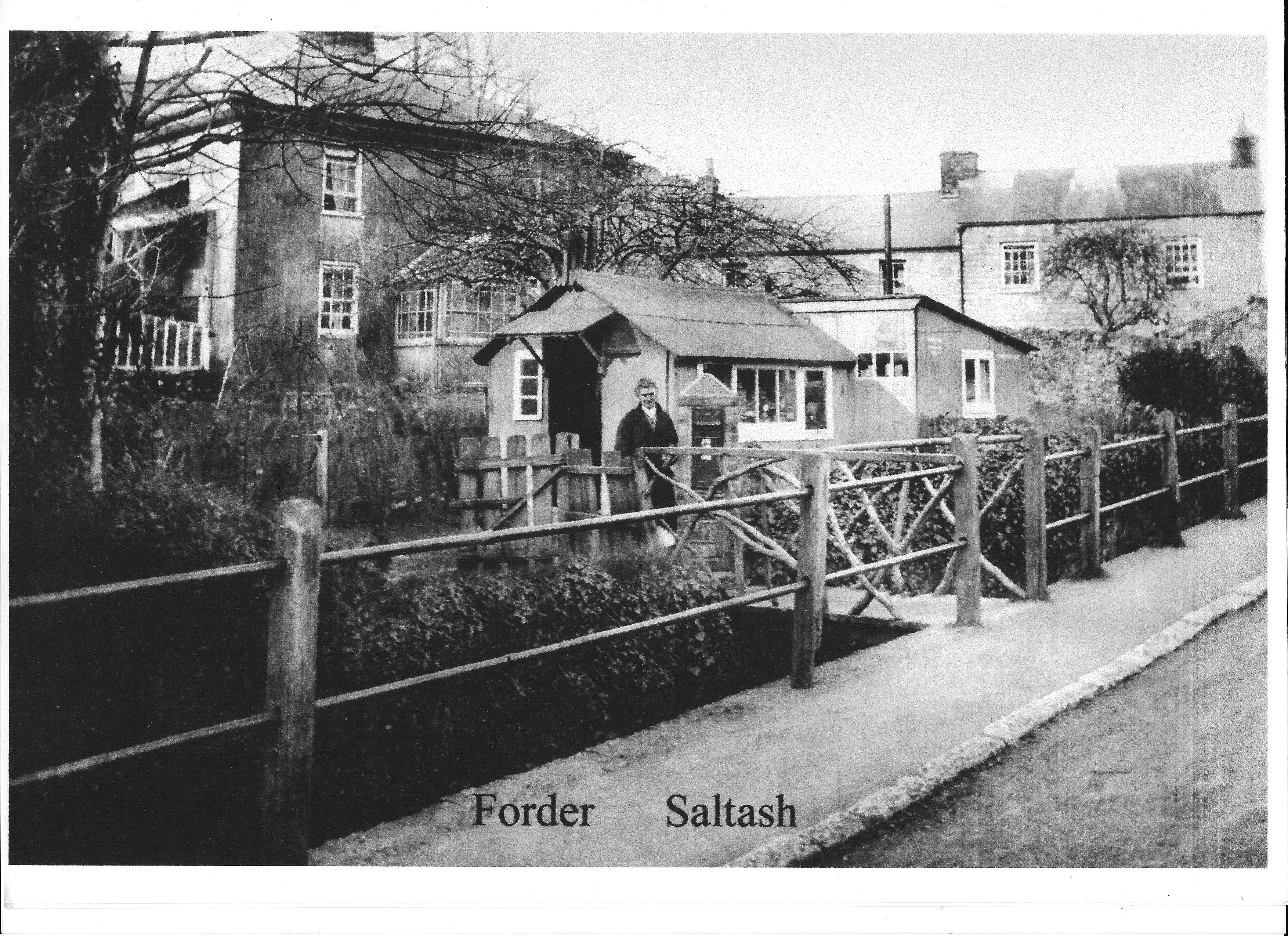 Forder Villa with old post office  -  when?