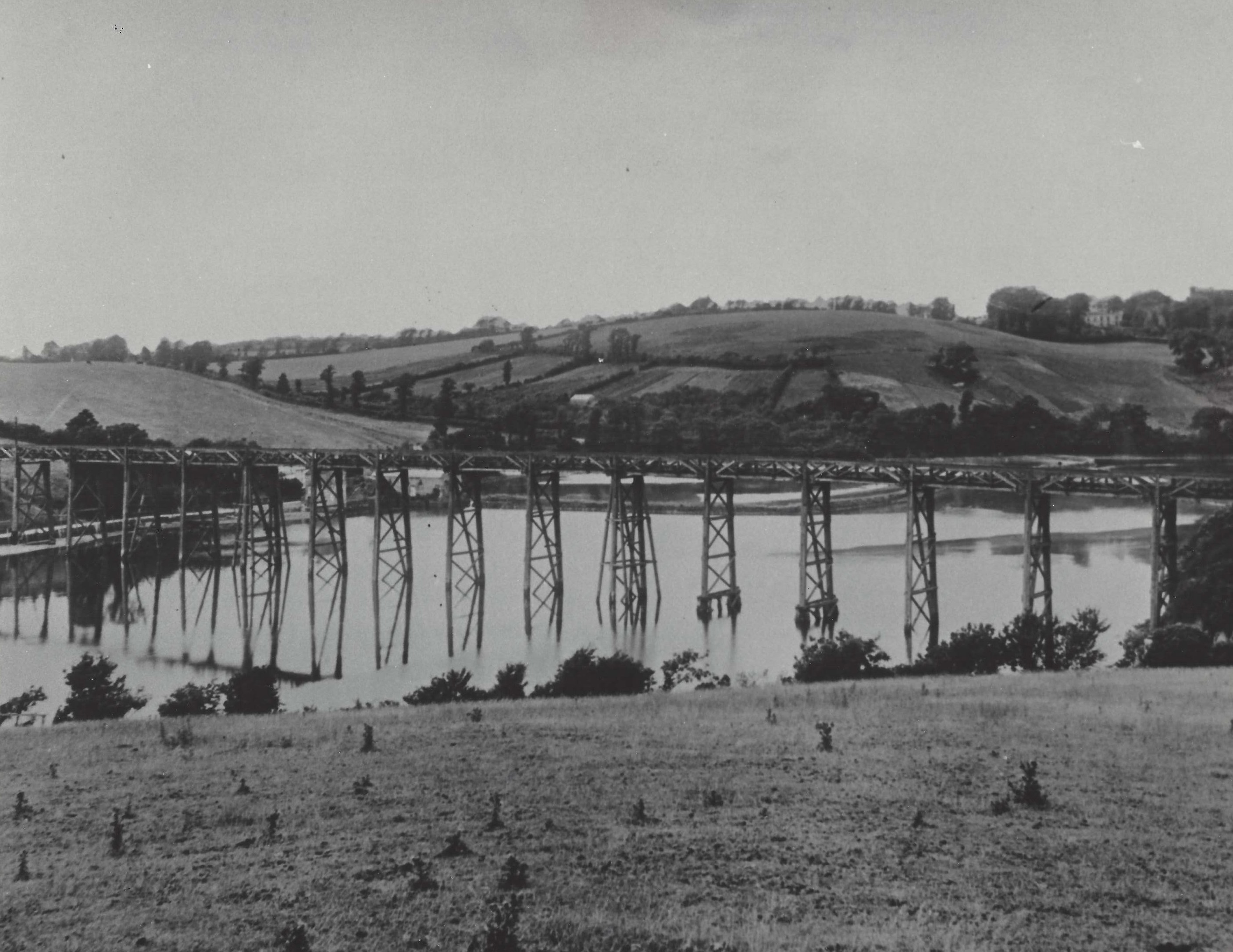 wooden viaduct, Forder, pre 1908